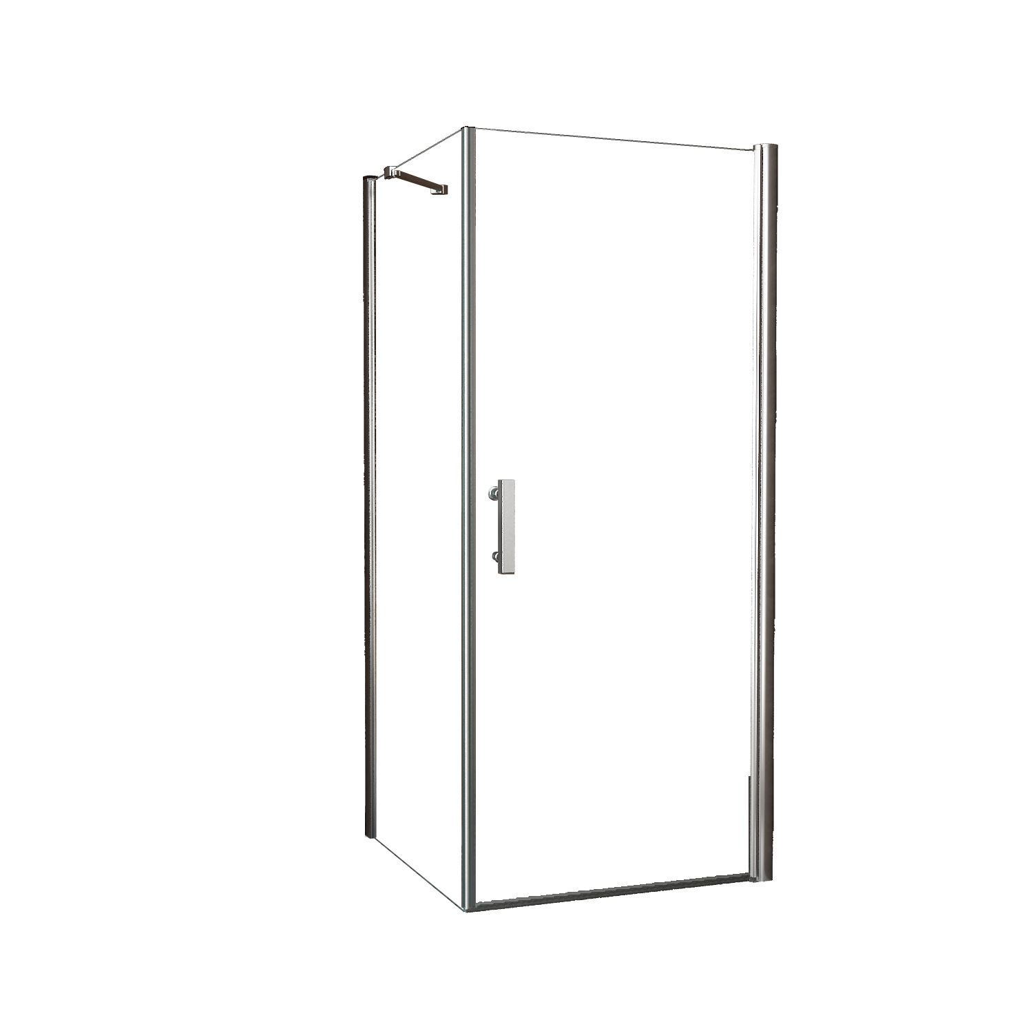 Douche 66795 BWS Douchecabine 100×100 cm met Swingdeur 8mm Nano Coating