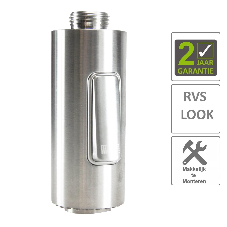 Sanitair-producten 74264 BWS Handdouche Los RVS