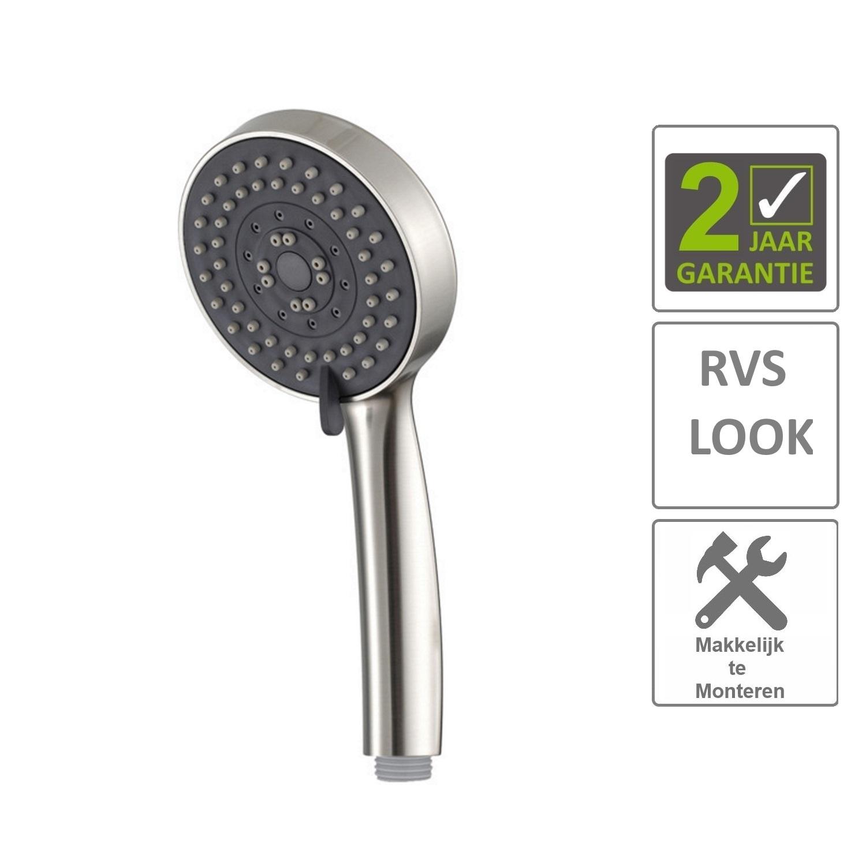 Sanitair-producten 74268 BWS Handdouche Rond RVS (3 standen)