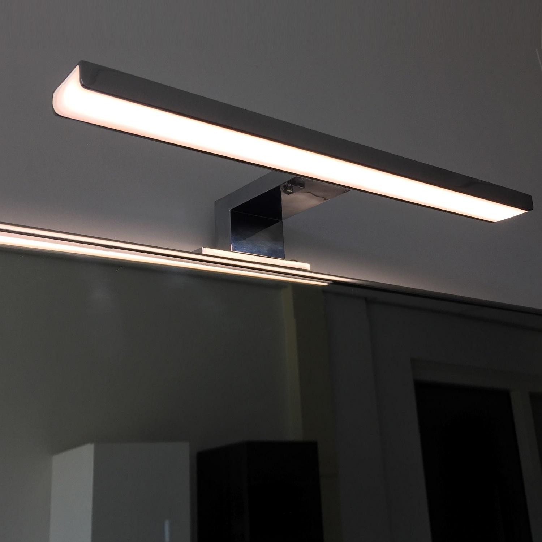led spiegellamp boss wessing 30cm 230v 5w 4000k mat zwart