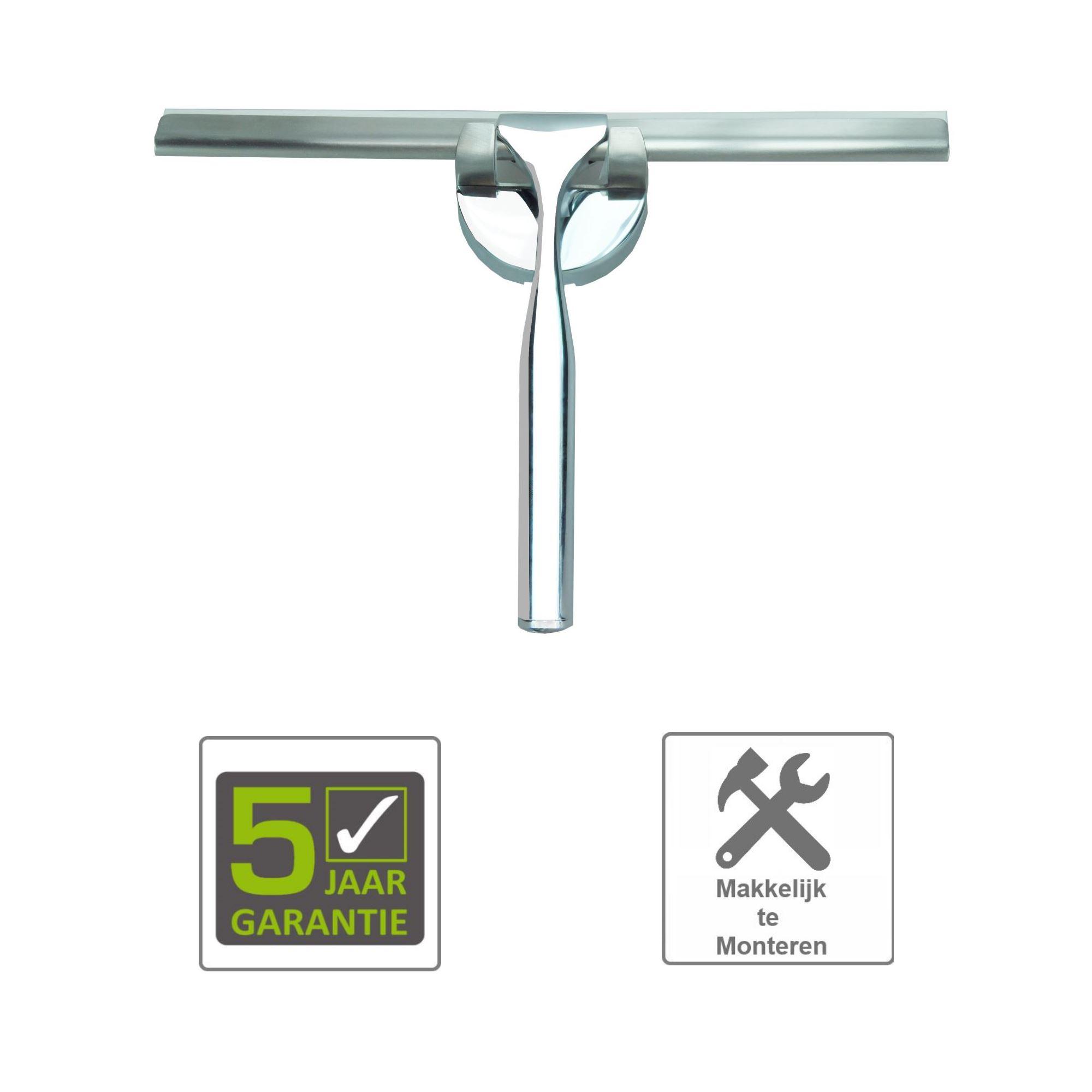 BWS Luxe Badkamerwisser 25 cm met Ophang Bevestiging - Tegels en ...