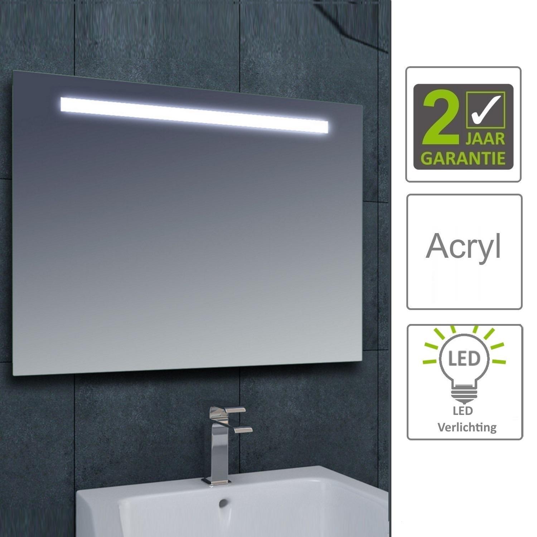 BWS LED Spiegel Tigris met Lichtschakelaar 140x80x3.1 cm (incl ...