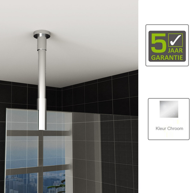 Sanitair-producten 67495 BWS Stabilisatiestang Plafond rond 100 cm Inkortbaar Chroom