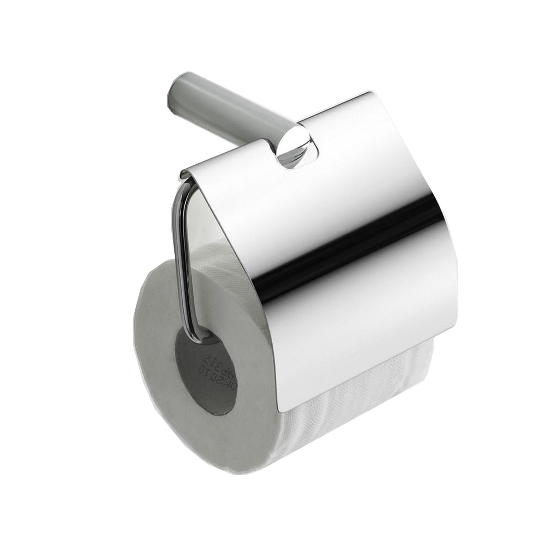 Accessoires 74845 Ida toiletrolhouder met klep chroom