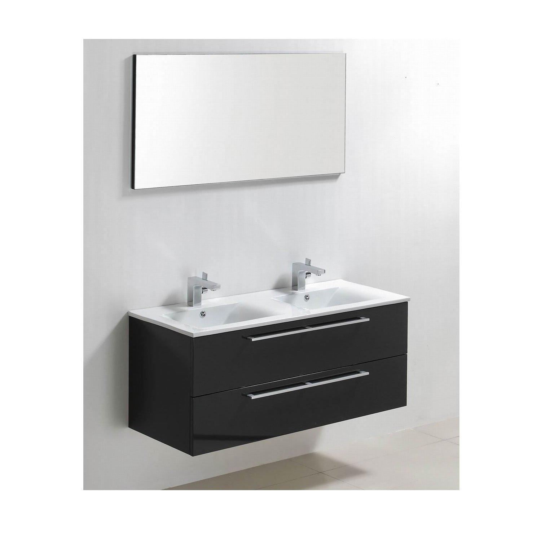 Badkamermeubels Wastafelonderkast kopen? Badkamermeubelset Sanilux Roma 120x46x50 cm (in twee kleuren leverbaar) met korting