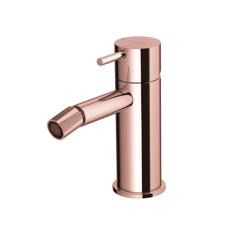 Bidetmengkraan Hotbath Cobber Roze Goud (excl. Waste)