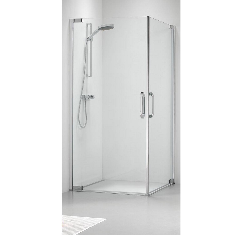 Productafbeelding van Douchecabine Get Wet by Sealskin Impact Hoekinstap 100x100 cm Chroom/zilver Helder Glas