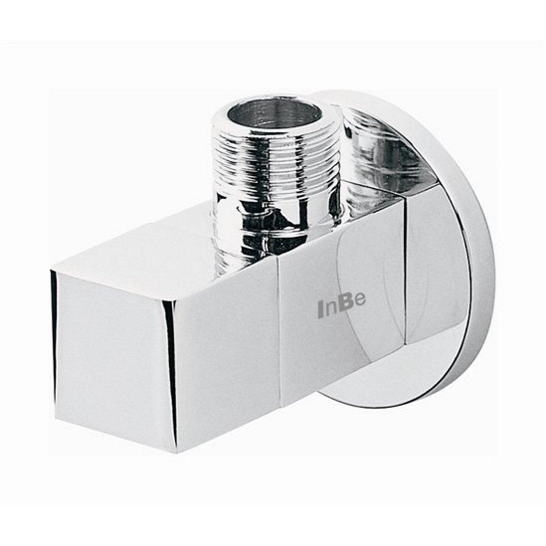 Sanitair tegel Clou kopen? Clou InBe Hoekstopkraan Design Type 6 Vierkant Chroom met voordeel razendsnel in huis bezorgd