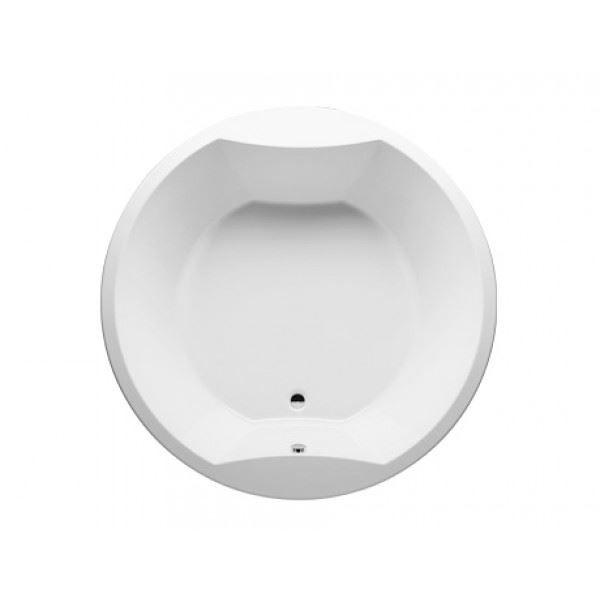 Ligbad Riho Colorado 180 x 180 cm rond wit