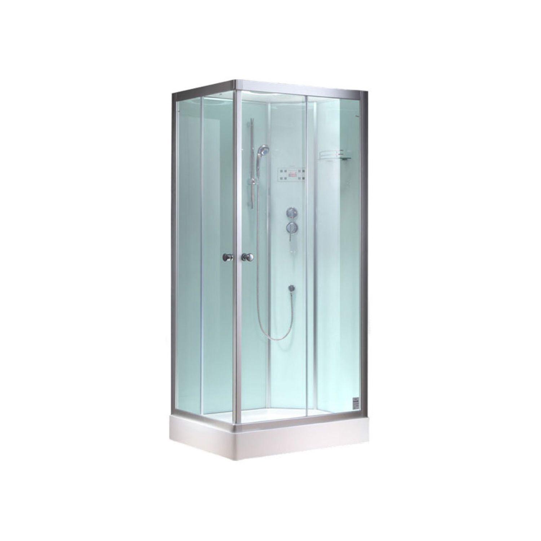 Productafbeelding van Complete Douchecabine EAGO 800-8IGH 80x80cm Hoek Wit