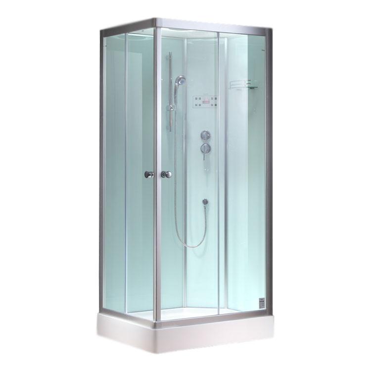 Productafbeelding van Complete Douchecabine EAGO 900-27GH 90x90cm Hoek Wit