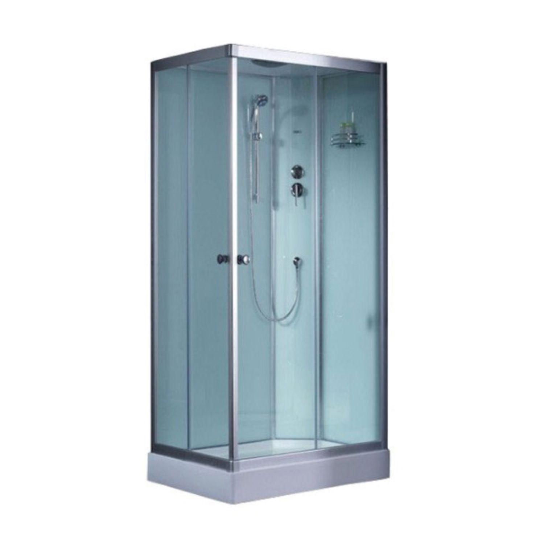 Productafbeelding van Complete Douchecabine EAGO 900-27IH 90x90cm Hoek Wit