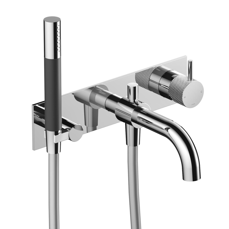 Inbouw Douche/Badmengkraan Hotbath Cobber X Met Automatische Omstel Chroom