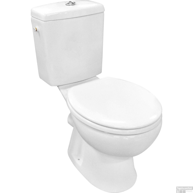 Goedkoop Duoblok Toilet.Duoblok Toilet Voordelige Toiletpotten Staand Tegeldepot Nl