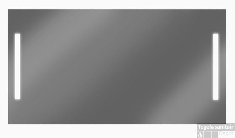 Vergrotende Spiegel Badkamer : Looox m line spiegel cm met verlichting met verwarming