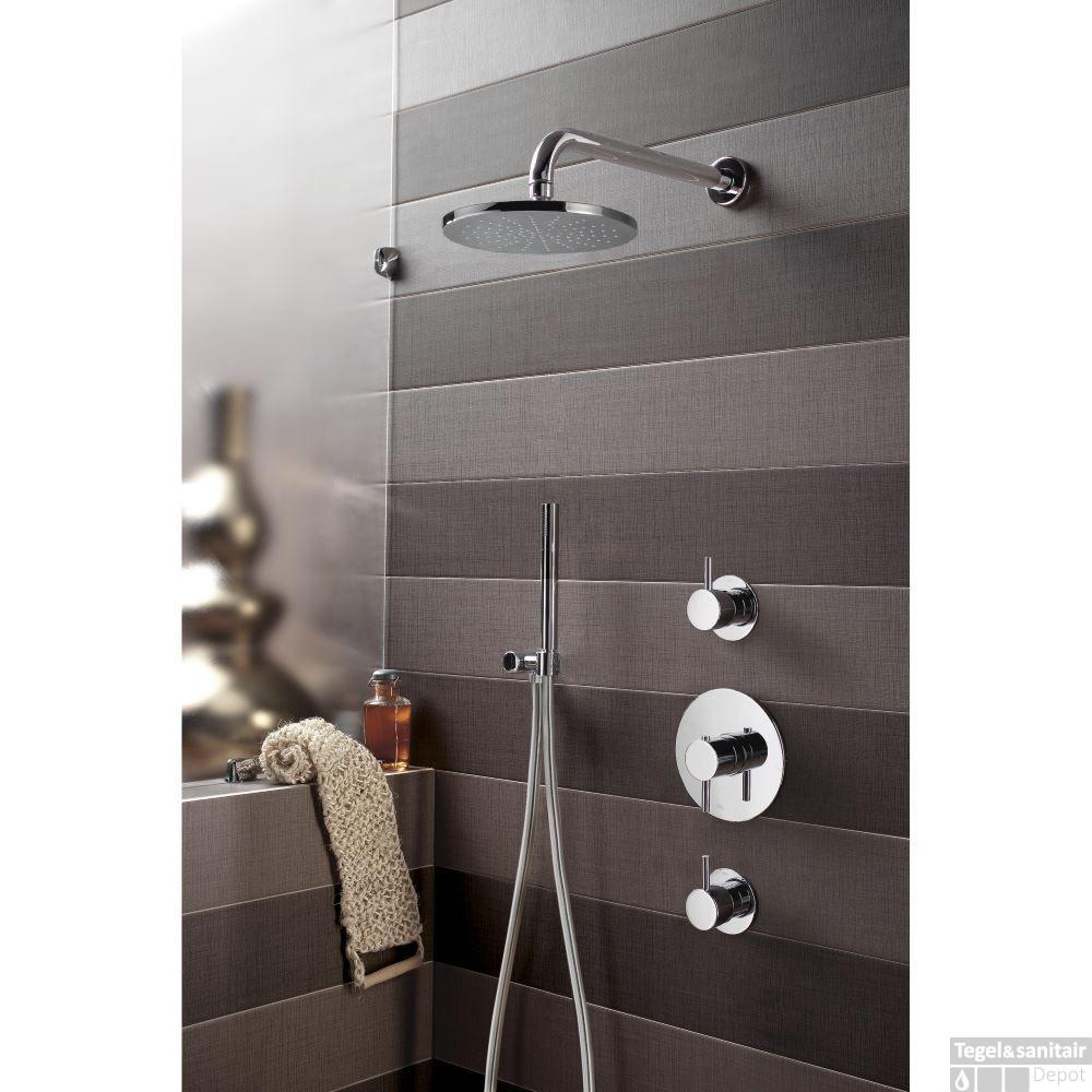 complete thermostatische douche inbouwset hotbath buddy 2. Black Bedroom Furniture Sets. Home Design Ideas