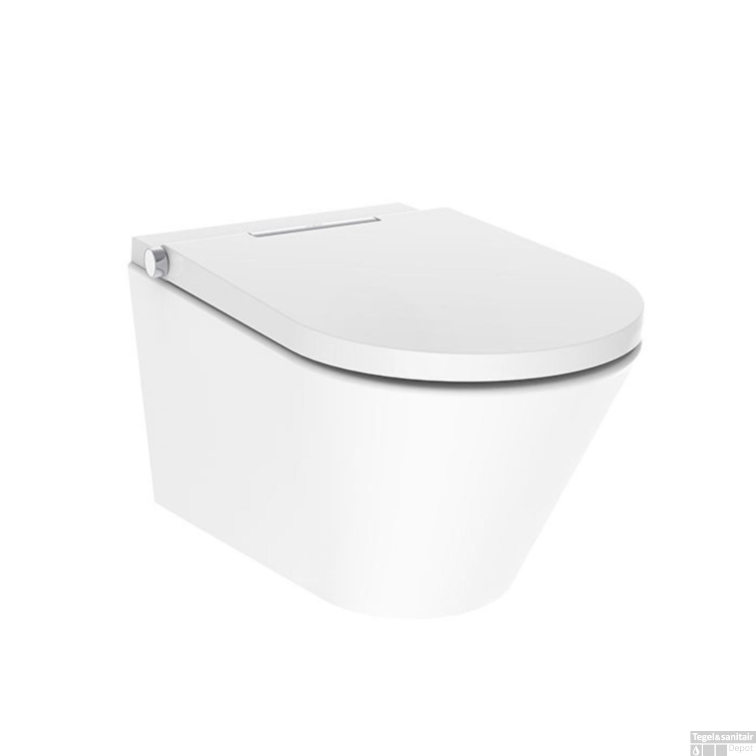 Favoriete Douche WC Axent Rimless Wit (inclusief zitting) TI71