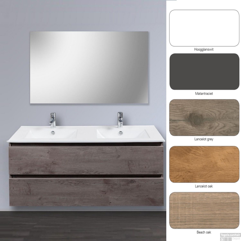 Badkamermeubel Dekker Allasio (60, 90, 120 cm) (5 kleuren)