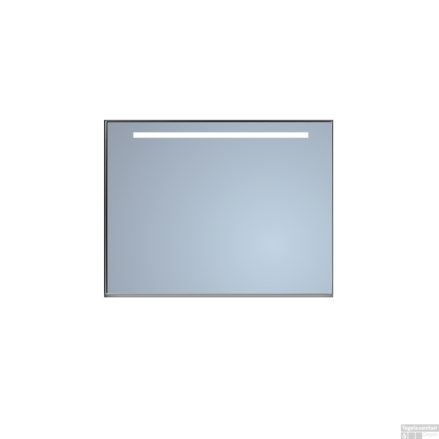 Badkamerspiegel Sanicare Q-Mirrors Ambiance en \'Warm White\' LED ...