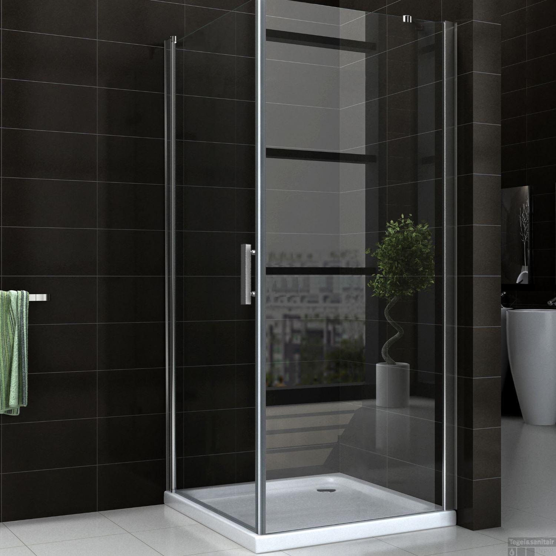 elegant badkamermeubel met inloop douchewand badkamermeubels