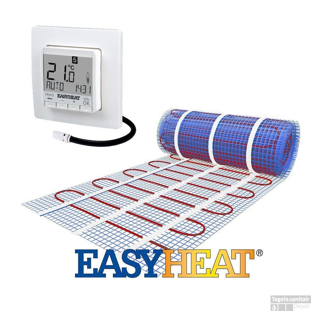 Elektrische Vloerverwarming Easy Heat 4 m2 | Tegeldepot.nl