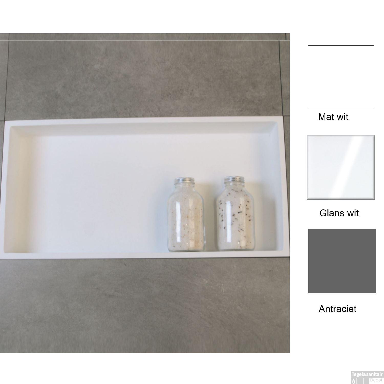 Inbouwnis Luca 59.5x29.5x8 cm (in 3 kleuren verkrijgbaar)