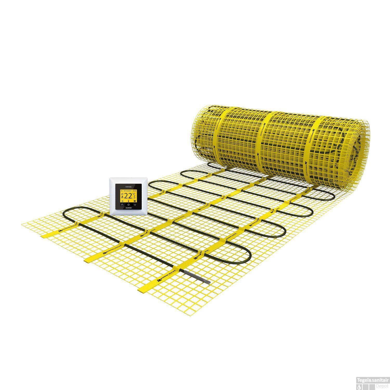 Elektrische Vloerverwarming Magnum Mat Incl Klokthermostaat 15 M2