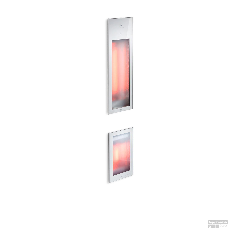 Sunshower Pure Duo Infrarood Inbouwapparaat 20x62x10 cm en 20x32x10 ...