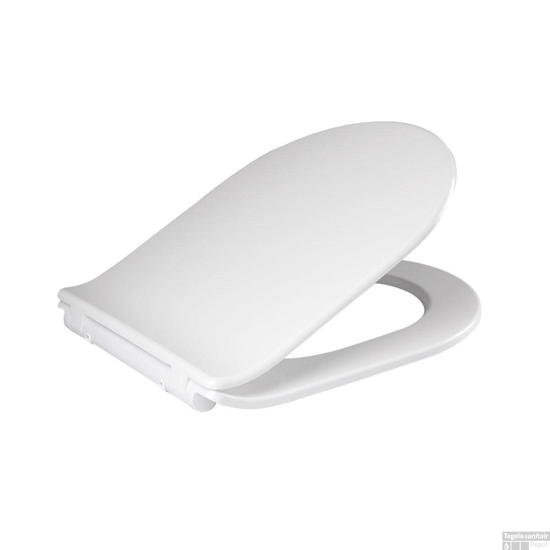 Magnifiek Toiletzitting Best Design Thin Line Soft Close Quick Release Wit PT49