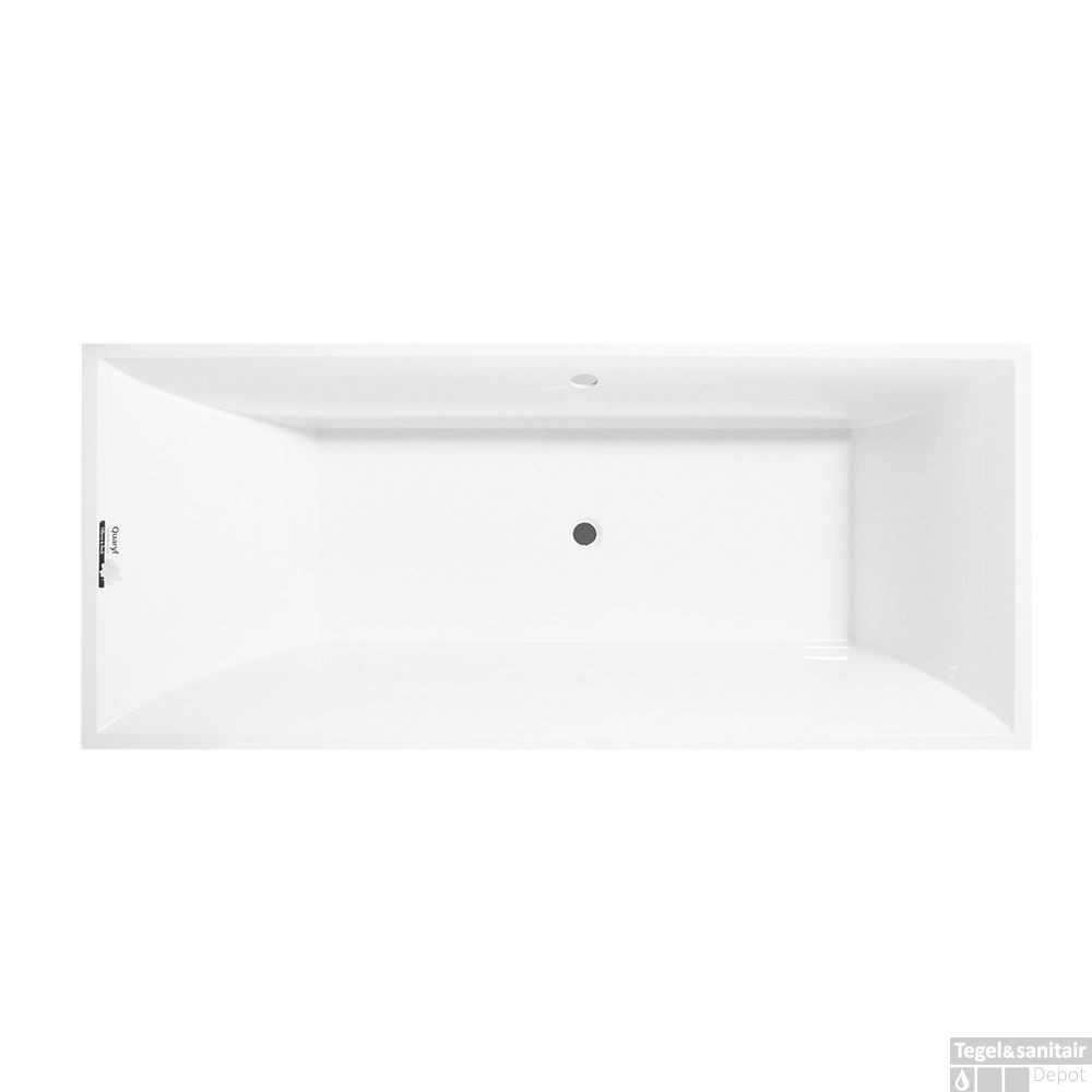 ligbad villeroy en boch squaro 170x75 cm wit ubq170sqr2v01. Black Bedroom Furniture Sets. Home Design Ideas