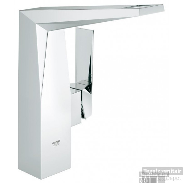 Grohe Allure Brilliant Wastafelkraan Hoog Model Zonder Waste Chroom