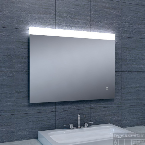 Spiegel Wiesbaden Single Dimbare LED 60x80 cm