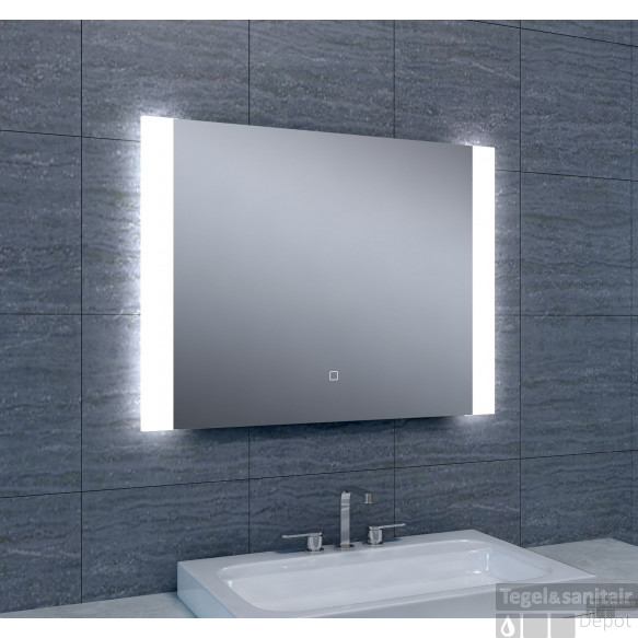 Spiegel Wiesbaden Sunny Dimbare LED 80x60 cm
