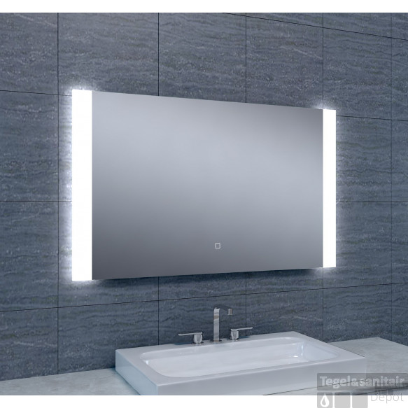 Spiegel Wiesbaden Sunny Dimbare LED 100 x 60 cm