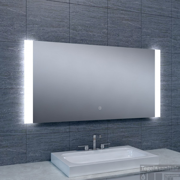 Spiegel Wiesbaden Sunny Dimbare LED 120x60 cm