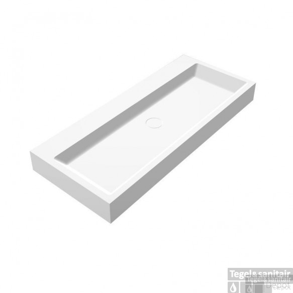 Wastafel Best Design Opera-100 Just Solid Surface 100x42x10cm