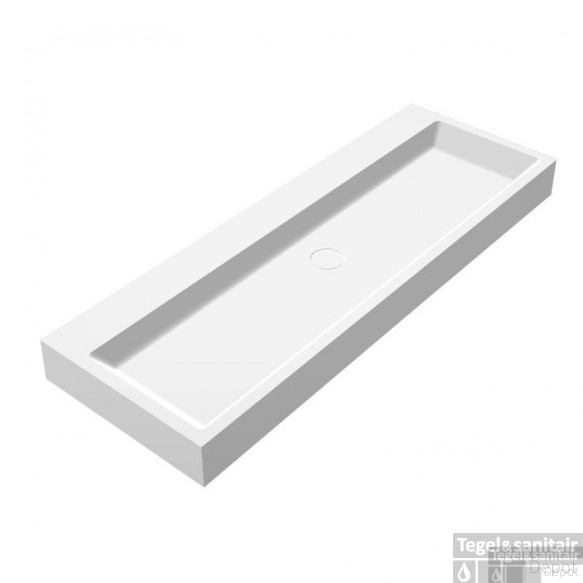 Wastafel Best Design Opera-120 Just Solid Surface 120x50x11cm
