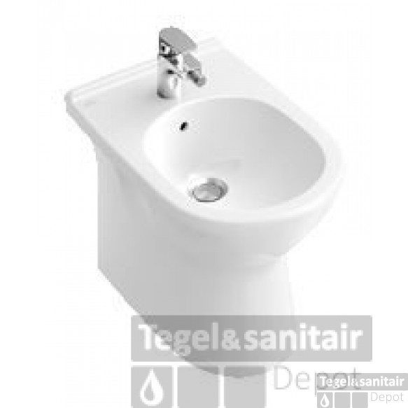 Villeroy & Boch O.novo Bidet 36x56 Cm. Back To Wall Wit