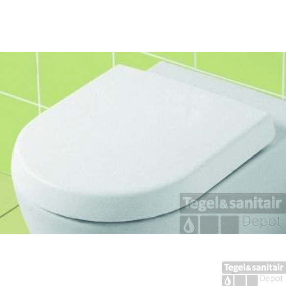Villeroy & Boch Subway 2.0 Compact Closetzitt.met Deksel Quickrel./softclose Wit