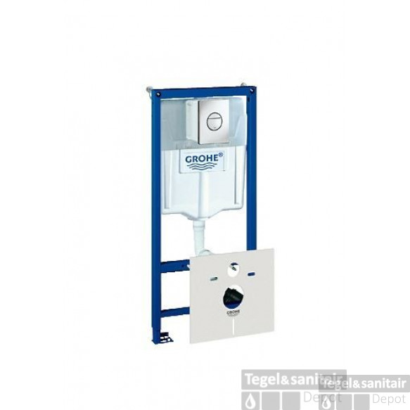 Grohe Rapid Sl Inbouwreservoir Met Nova Cosm.bed.plaat Chooom