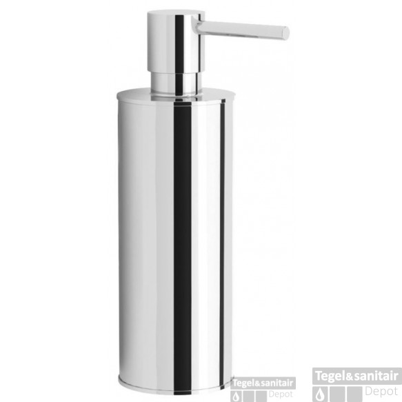 B&w-luxury Bold Staande Zeepdispenser 150 Ml. Chroom