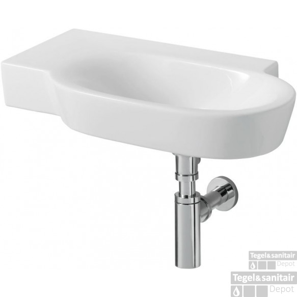 Ideal Standard Tonic Guest Fontein 60x35 Cm. Links Wit