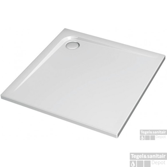 Ideal Standard Ultra Flat Douchebak 120 X 120 X 4 Cm. Wit