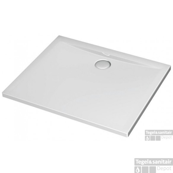 Ideal Standard Ultra Flat Douchebak 100 X 80 X 4 Cm. Wit