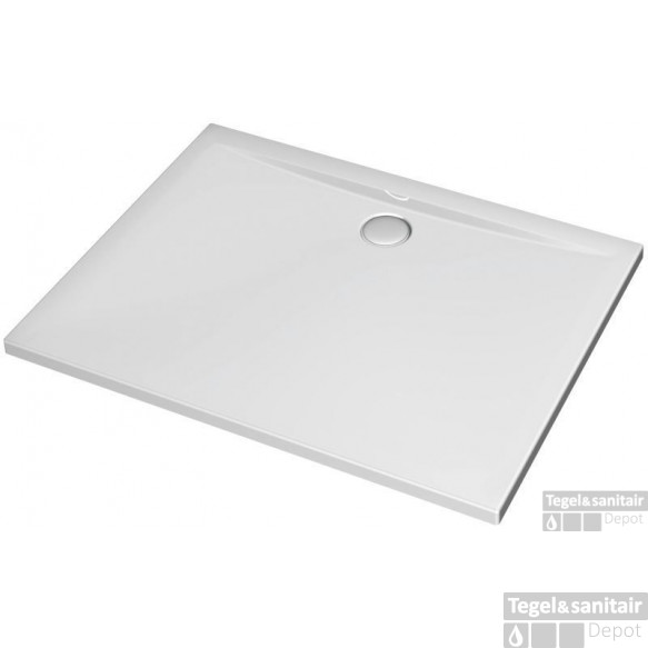 Ideal Standard Ultra Flat Douchebak 100 X 90 X 4 Cm. Wit