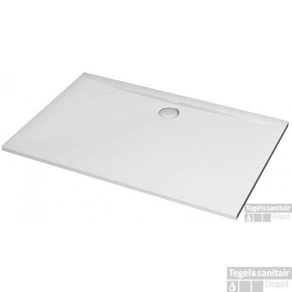 Ideal Standard Ultra Flat Douchebak 140 X 80 X 4 Cm. Wit