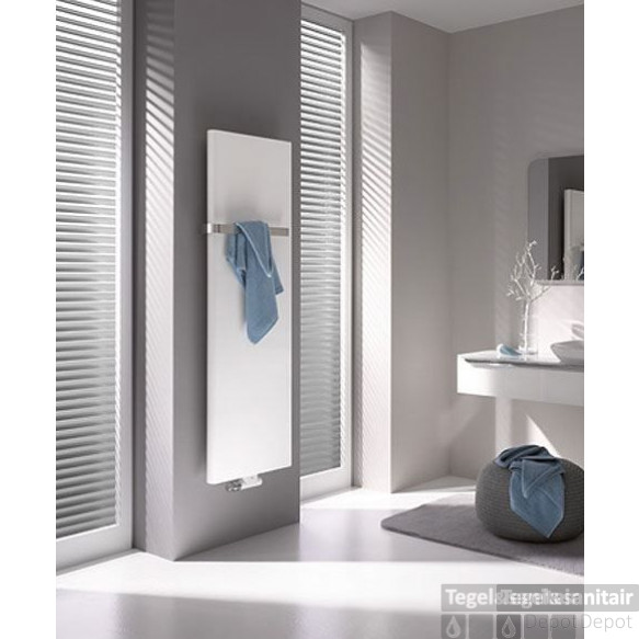 Kermi Pateo Radiator 1525x600 Mm. As=50 Mm 1291w Glans Zilver