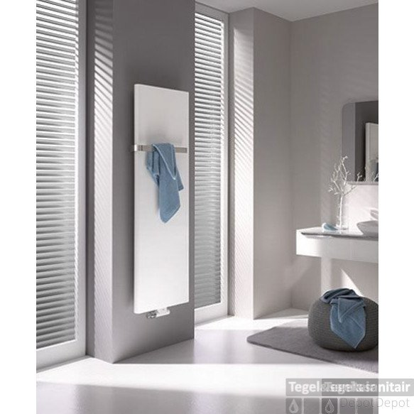Kermi Pateo Radiator 1725x600 Mm. As=50 Mm 1406w Glans Zilver