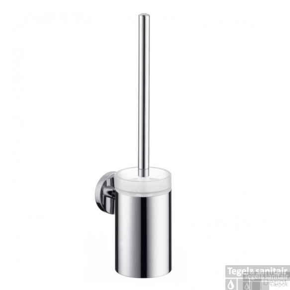 Hansgrohe E/s Closetborstelhouder Brushed Nickel