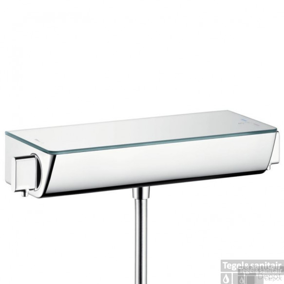 Hansgrohe Ecostat Select Douchethermostaat 15 Cm. Wit-chroom